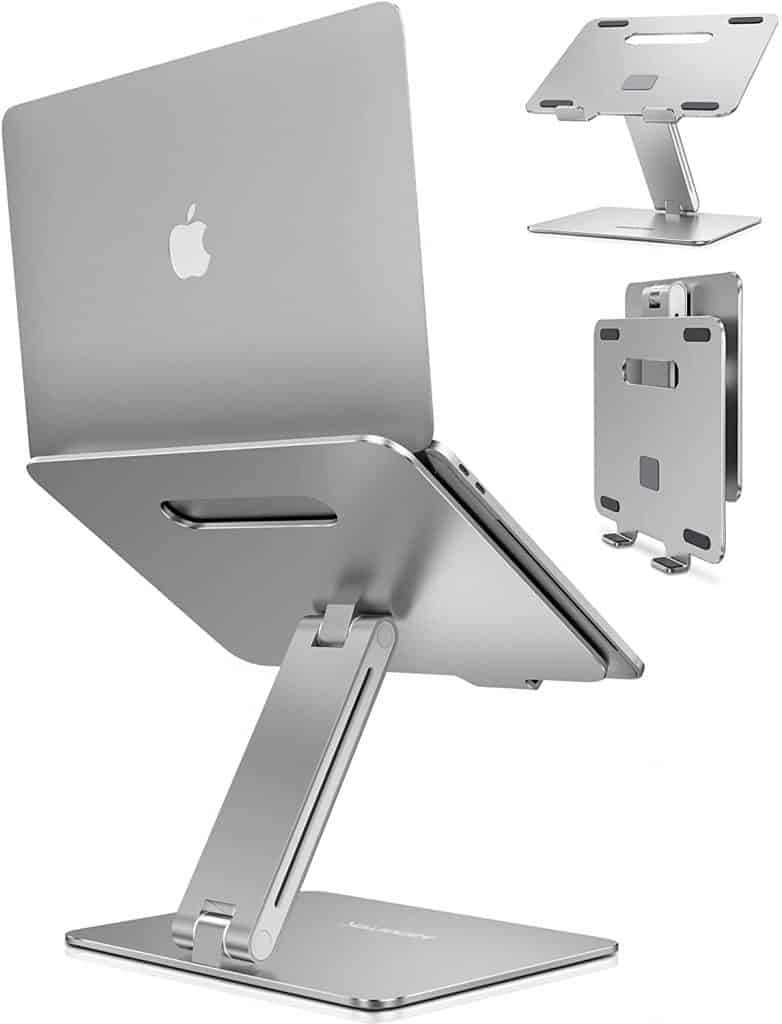 portable laptop stand remote work