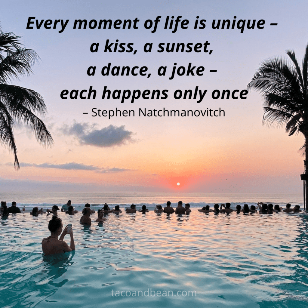 unique moments sunset quote and insta captions