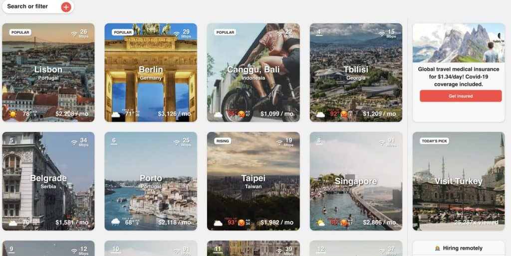 how to find digital nomad communities around the world
