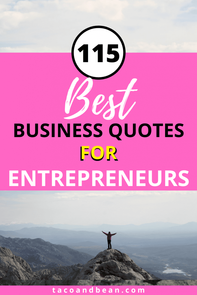 most popular entrepreneur quotes for business